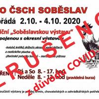 Soběslavská výstava chovatelů v říjnu ZRUŠENA 1