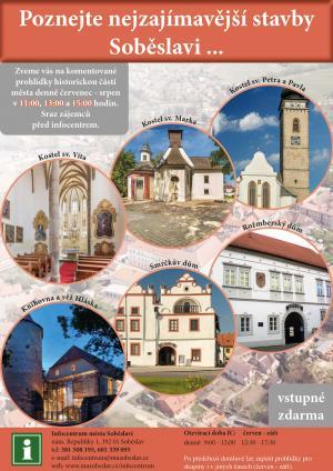 Komentované prohlídky Soběslavi se rozšiřují o kostel sv. Marka 1