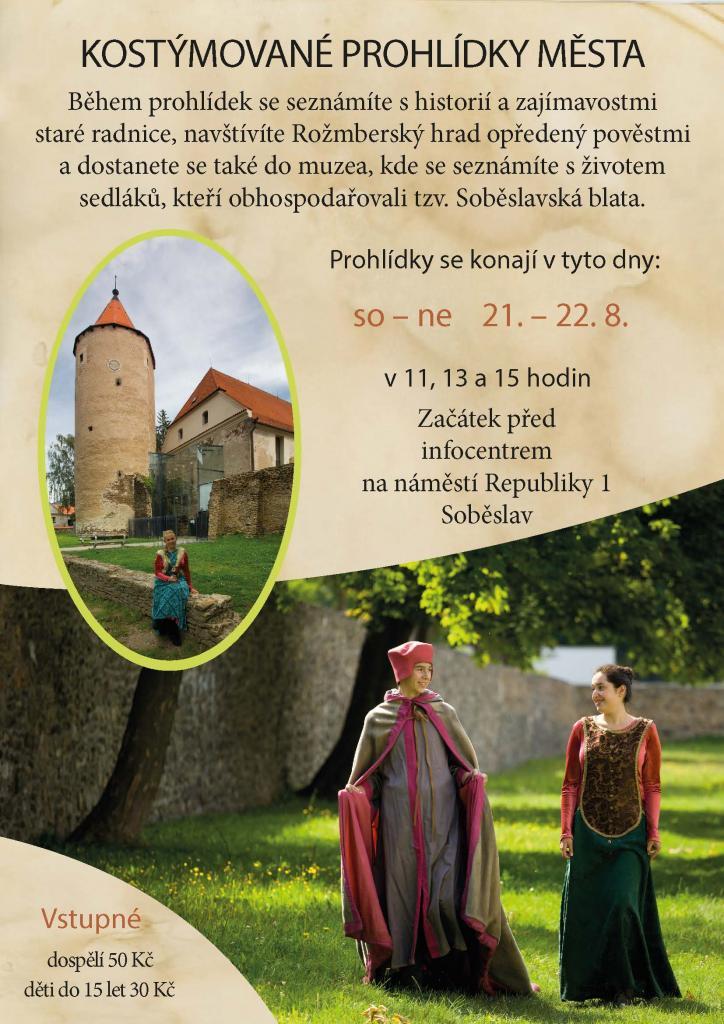 Kostýmované prohlídky Soběslavi 2